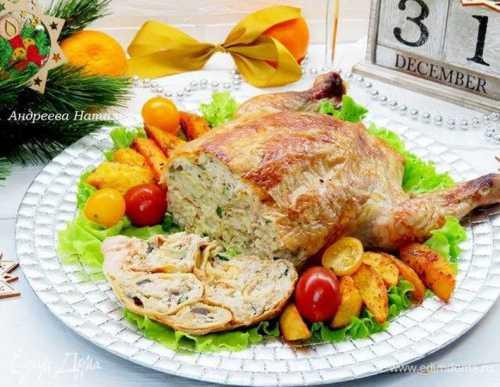 курица в банке в духовке с овощами, картошкой и другие варианты